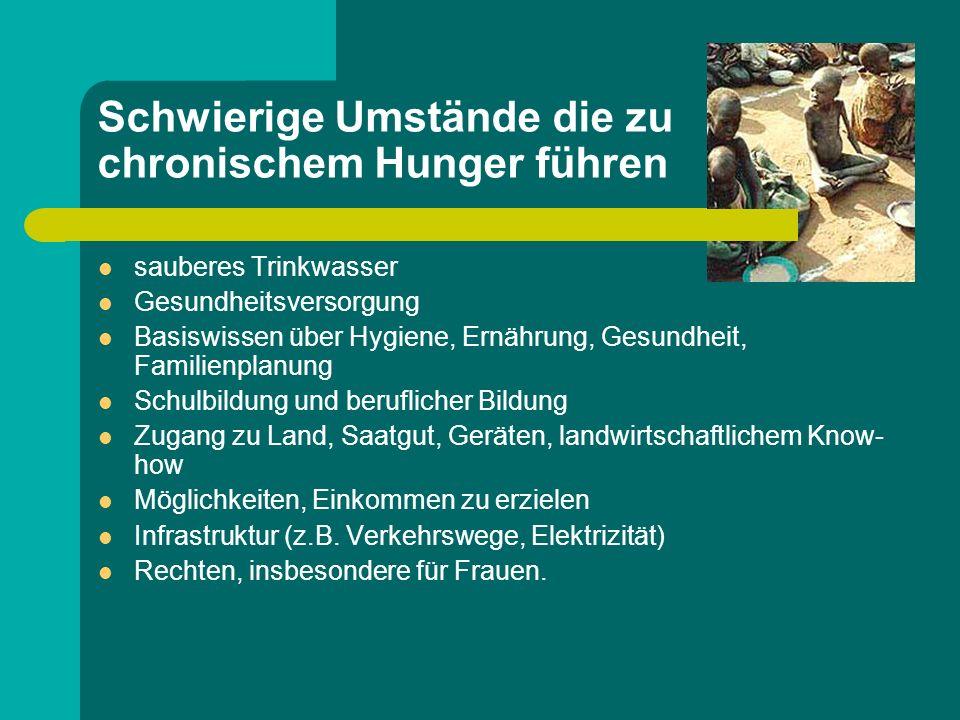 """Das Ausmaß des Leids Die betroffenen Menschen entsprechen nicht gerade dem """"typischen Bild von Hungernden."""