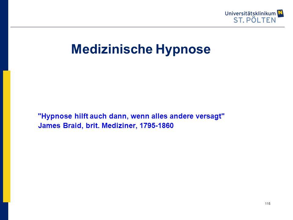 115 Medizinische Hypnose