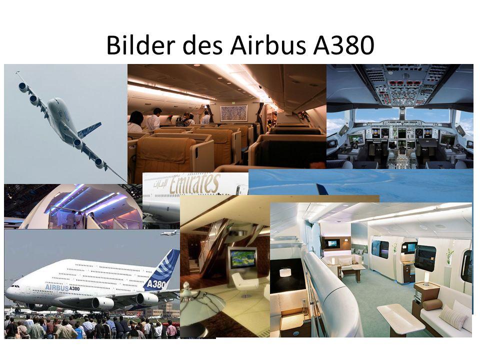 Bilder des Airbus A380