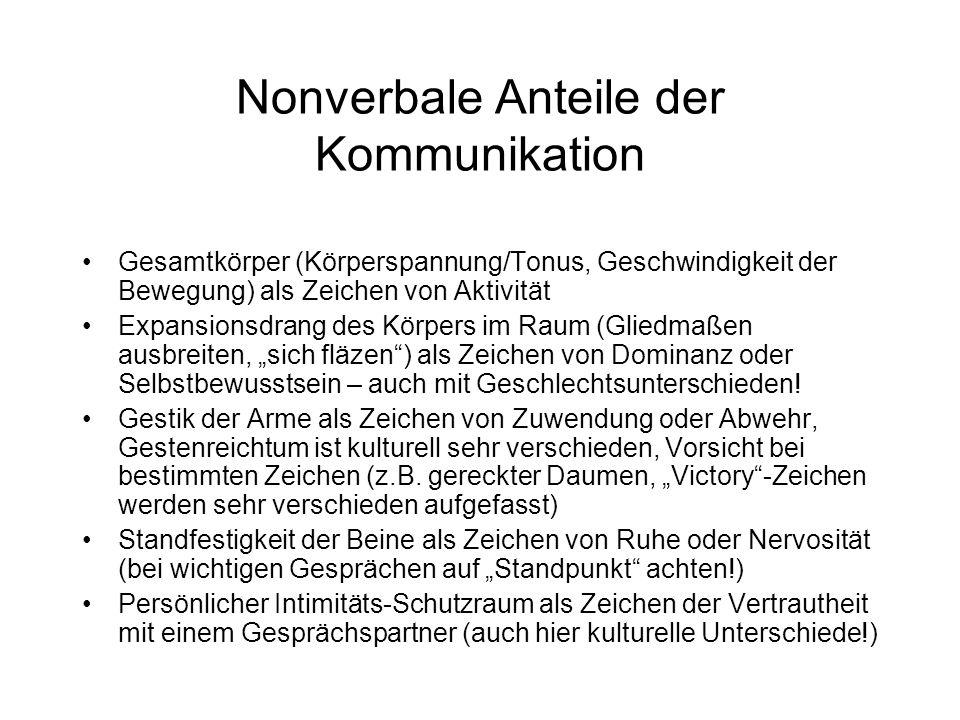 Erkennen Sie Ihre bevorzugten Gesprächshaltungen anhand folgender Beispiele (aus Weisbach & Sonne-Neubacher): Eine Freundin ist durch eine mündliche Prüfung gefallen.
