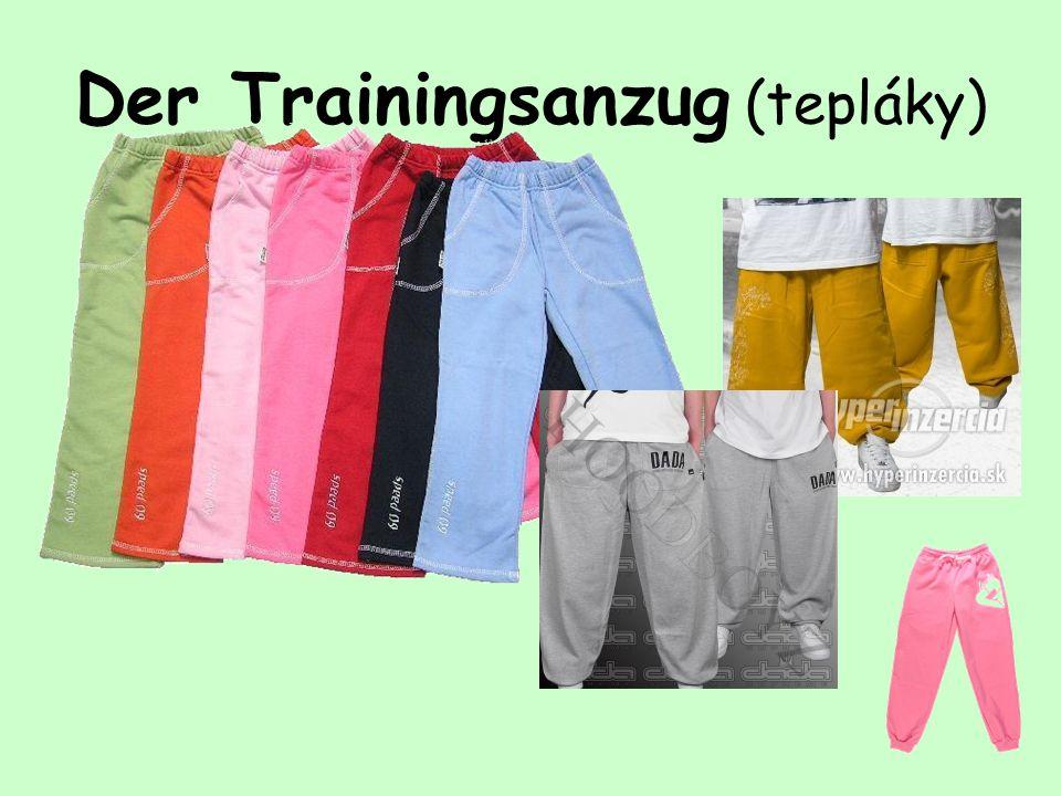 Der Trainingsanzug (tepláky)