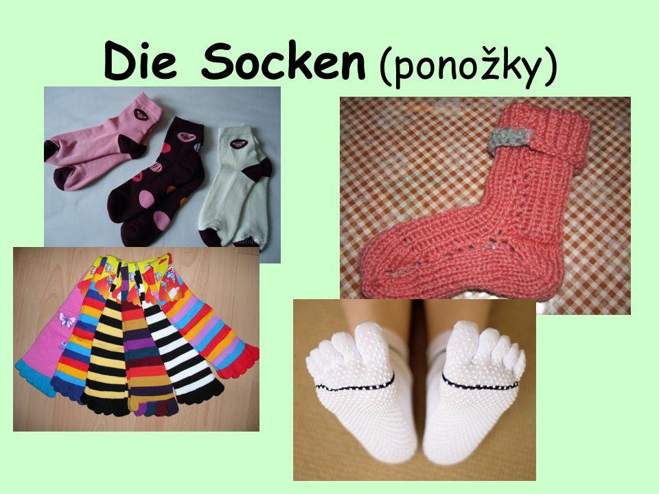 Die Socken (ponožky)