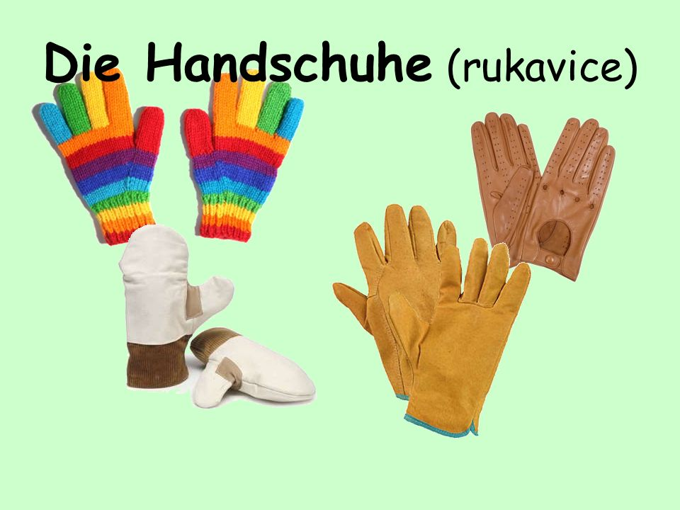 Die Handschuhe (rukavice)