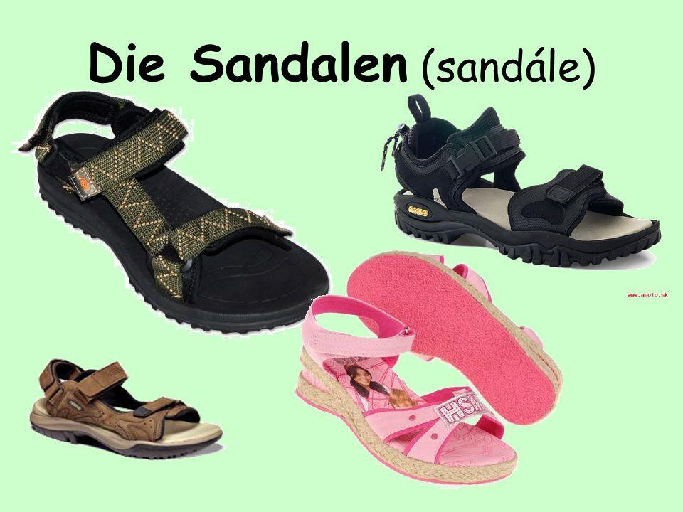 Die Sandalen (sandále)