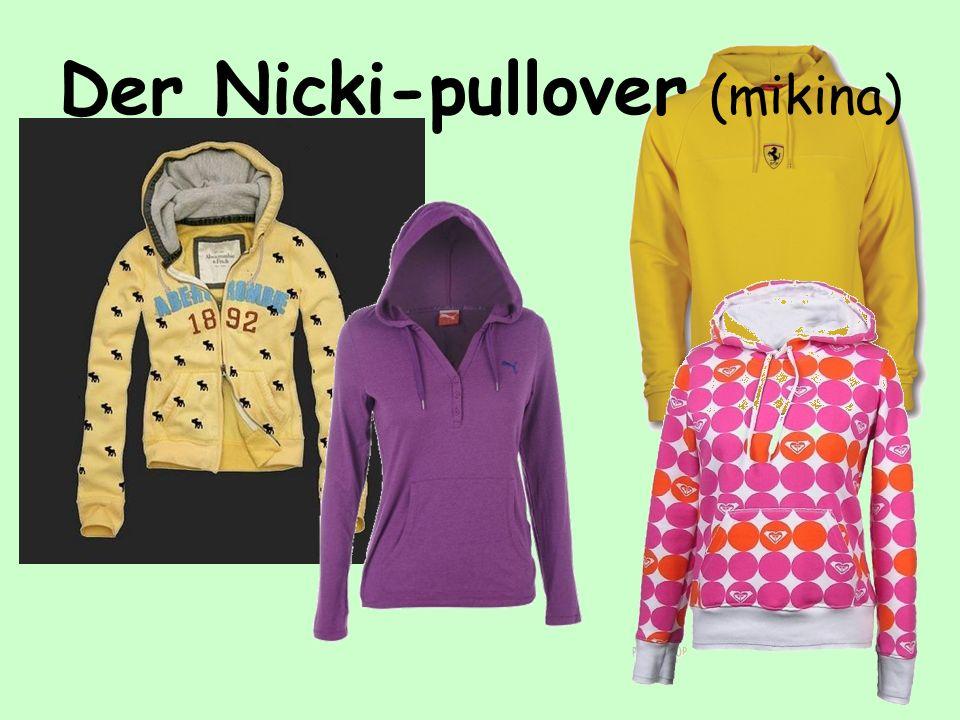 Der Nicki-pullover (mikina)