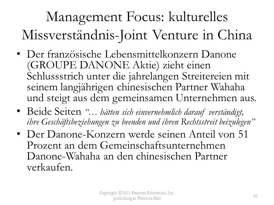 Der französische Lebensmittelkonzern Danone (GROUPE DANONE Aktie) zieht einen Schlussstrich unter die jahrelangen Streitereien mit seinem langjährigen