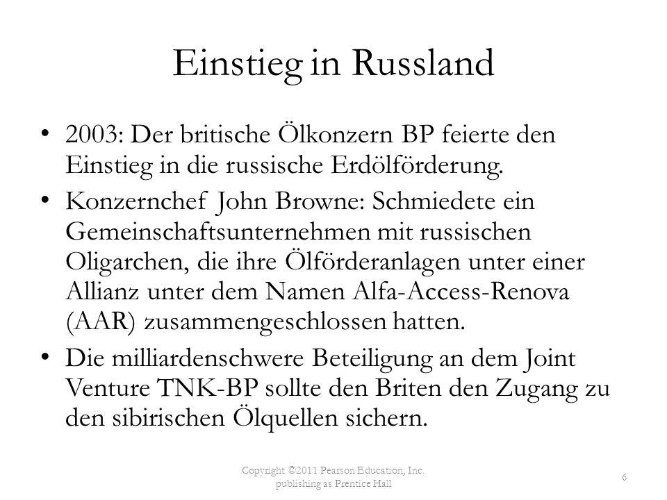 Einstieg in Russland 2003: Der britische Ölkonzern BP feierte den Einstieg in die russische Erdölförderung. Konzernchef John Browne: Schmiedete ein Ge