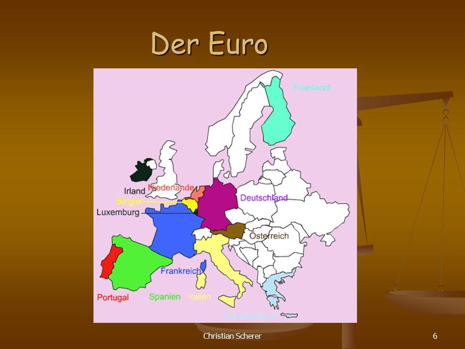 Christian Scherer6 Der Euro