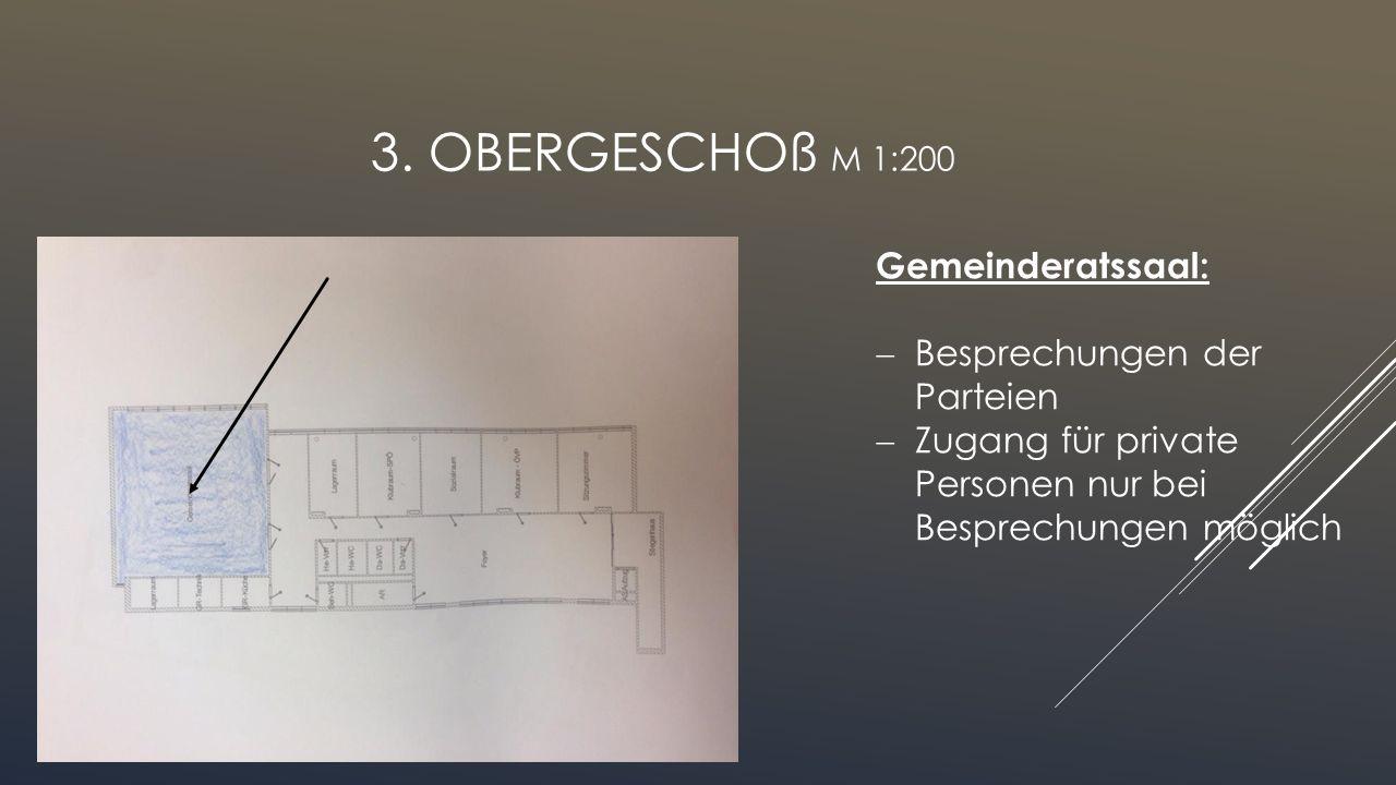 2. OBERGESCHOß M 1:200 Bauabteilung:  Hausbau anmelden  Vorschriften und Richtlinien werden geprüft (unsere Pläne haben wir von dort)