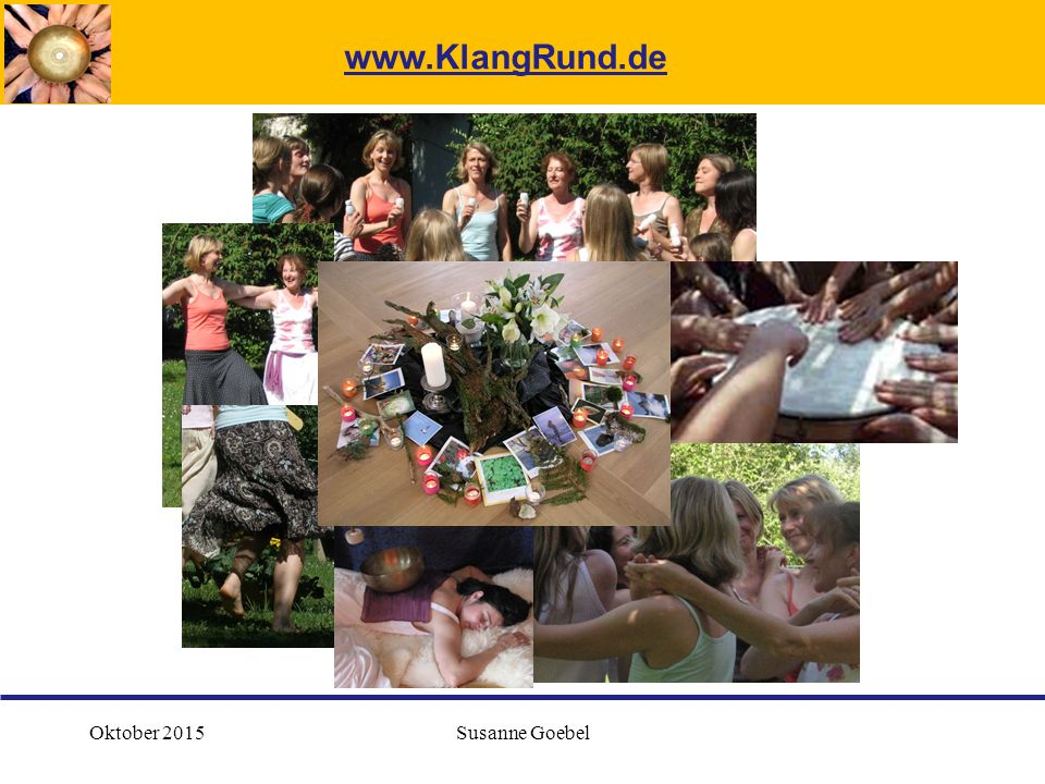 Oktober 2015Susanne Goebel www.KlangRund.de
