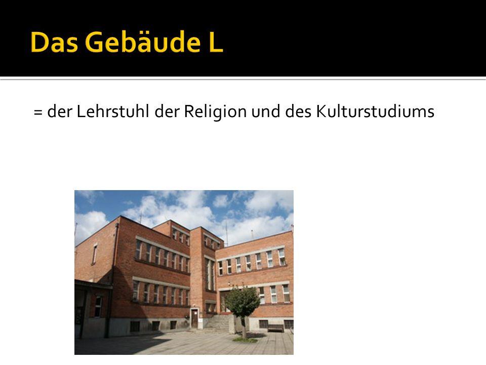 = der Lehrstuhl der Religion und des Kulturstudiums