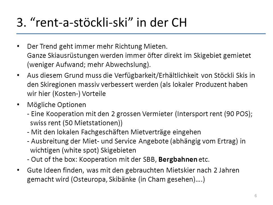 3. rent-a-stöckli-ski in der CH Der Trend geht immer mehr Richtung Mieten.