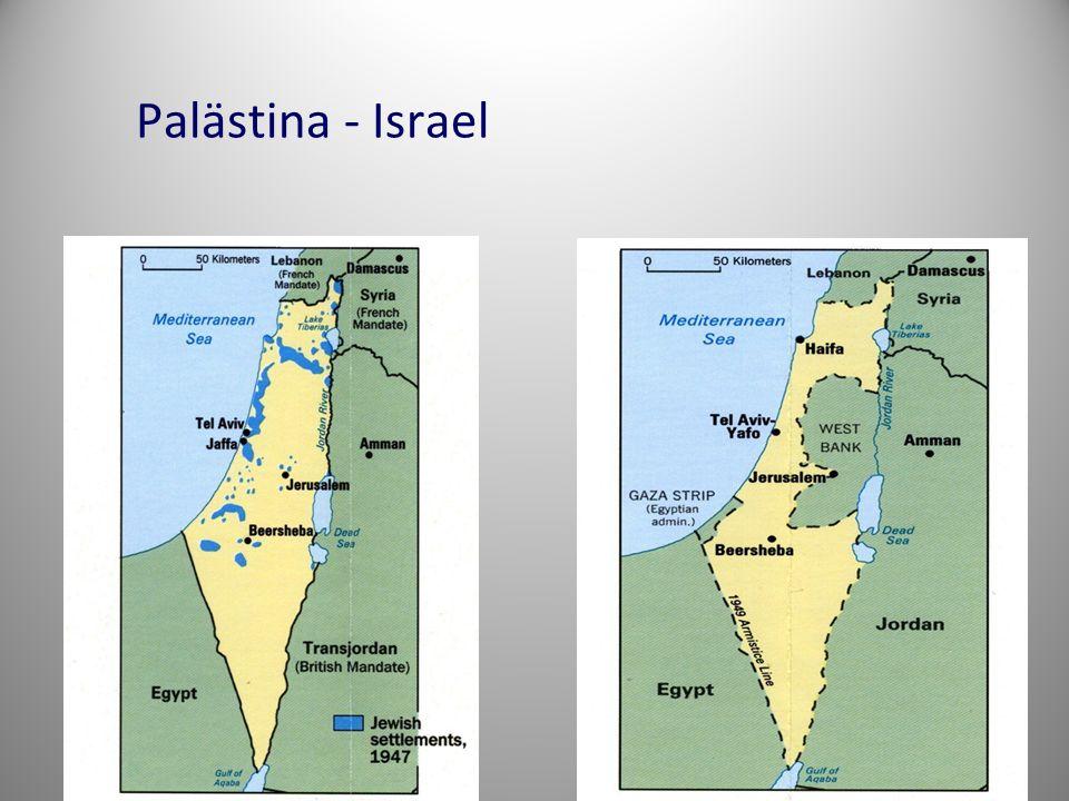 Palästina - Israel