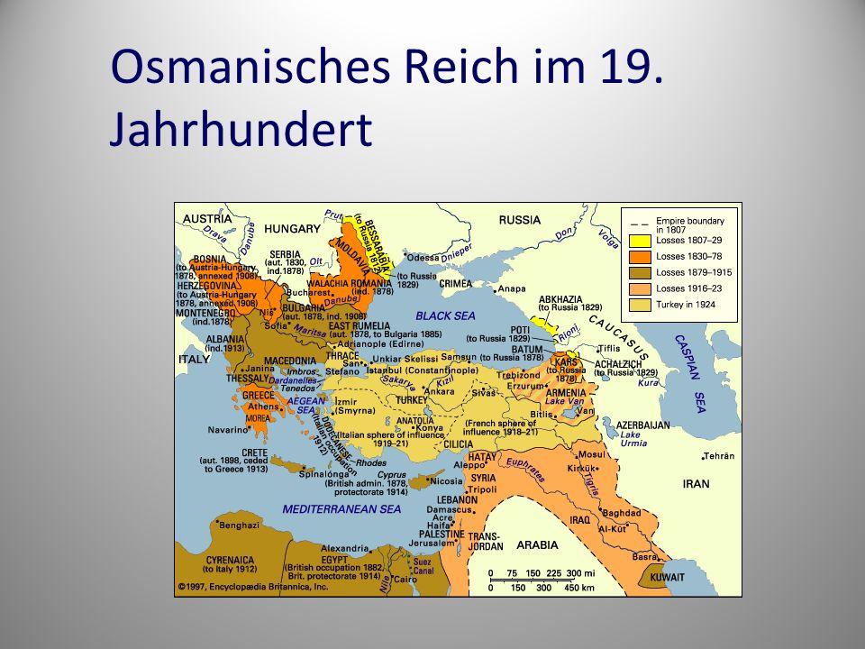 Osmanisches Reich im 19. Jahrhundert