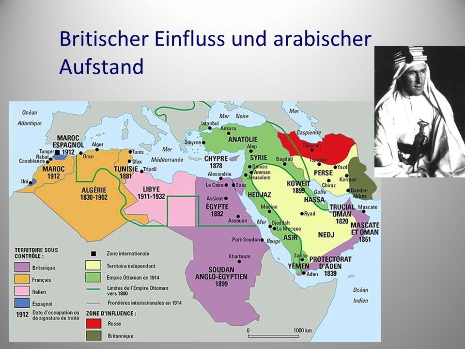 Naher/Mittlerer Osten 1920