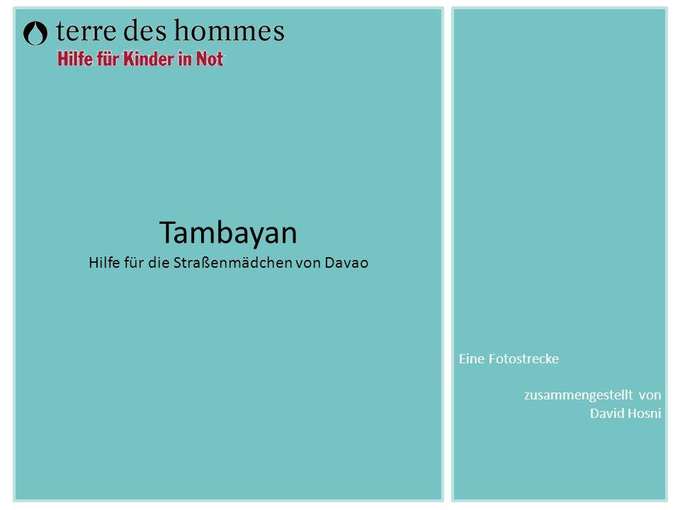 Die zehn Mitarbeiterinnen von »Tambayan« nehmen in den Slums Kontakt zu den Kindern, aber auch zu den Eltern und Lehrern auf.