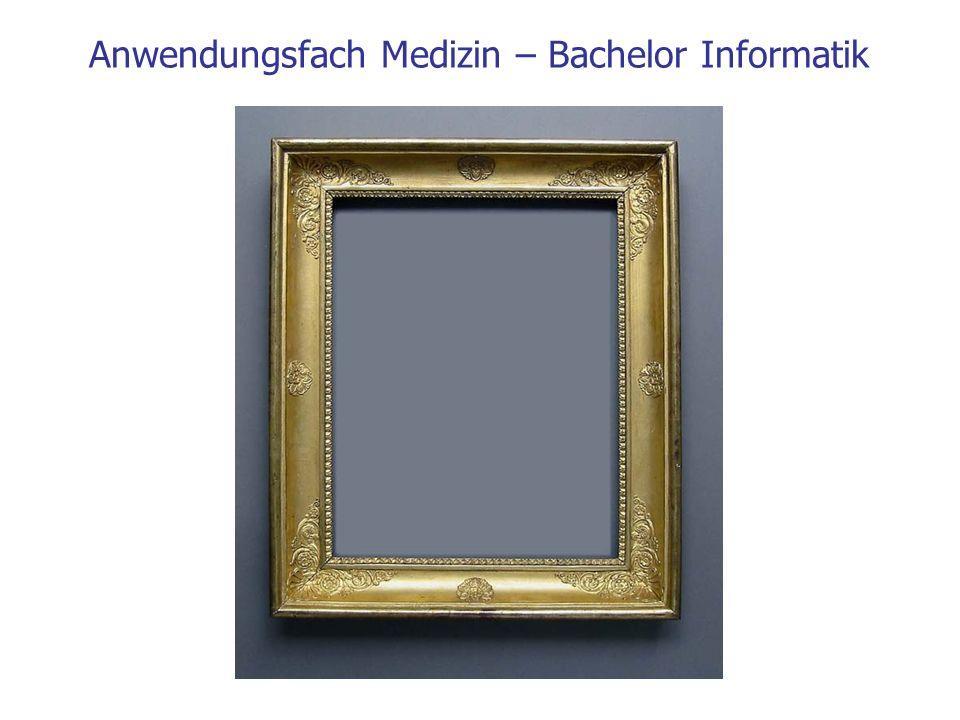 Anwendungsfach Medizin – Bachelor Informatik