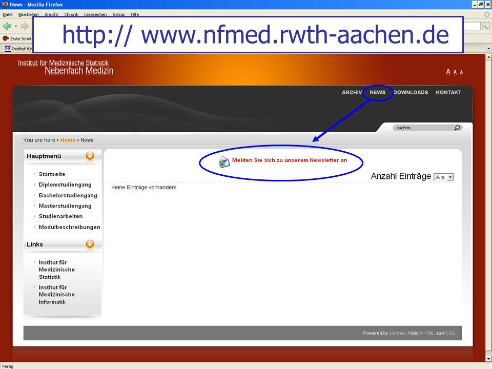http:// www.nfmed.rwth-aachen.de