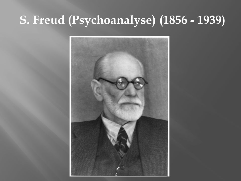 Alfred Adler (Individualpsychologie) (1870 - 1937)