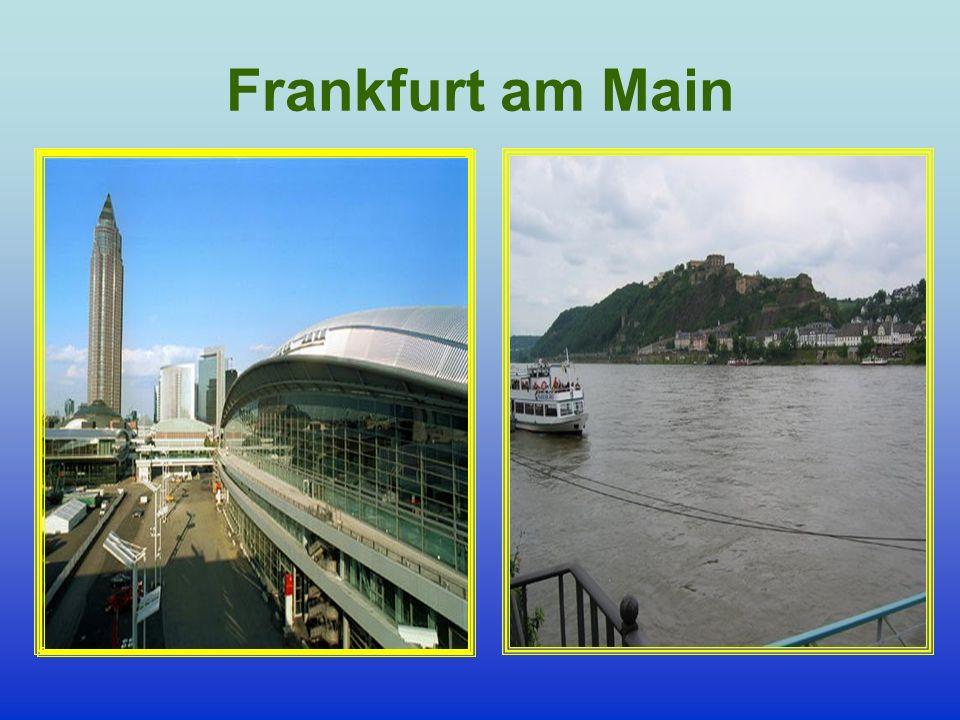 Johan Wolfgang von Goethe « Da eröffnete sich mir der alte Rhein, die schöne Lage von Oberlahnstein entzückte mich; über alles aber herrlich das Schloss Ehrenbreitsstein, welches in seiner Kraft und Macht vollkommen gerüstet dastand».