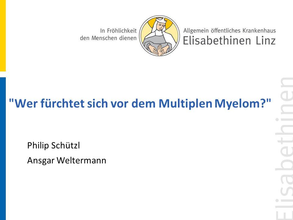 Wie gehe ich damit um, dass mein Arzt sagt, dass er nicht weiß, wie das Multiple Myelom entsteht.