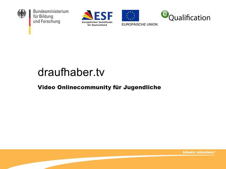 draufhaber.tv Video Onlinecommunity für Jugendliche