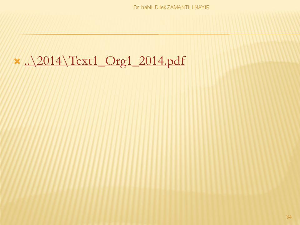 ..\2014\Text1_Org1_2014.pdf..\2014\Text1_Org1_2014.pdf Dr. habil. Dilek ZAMANTILI NAYIR 34