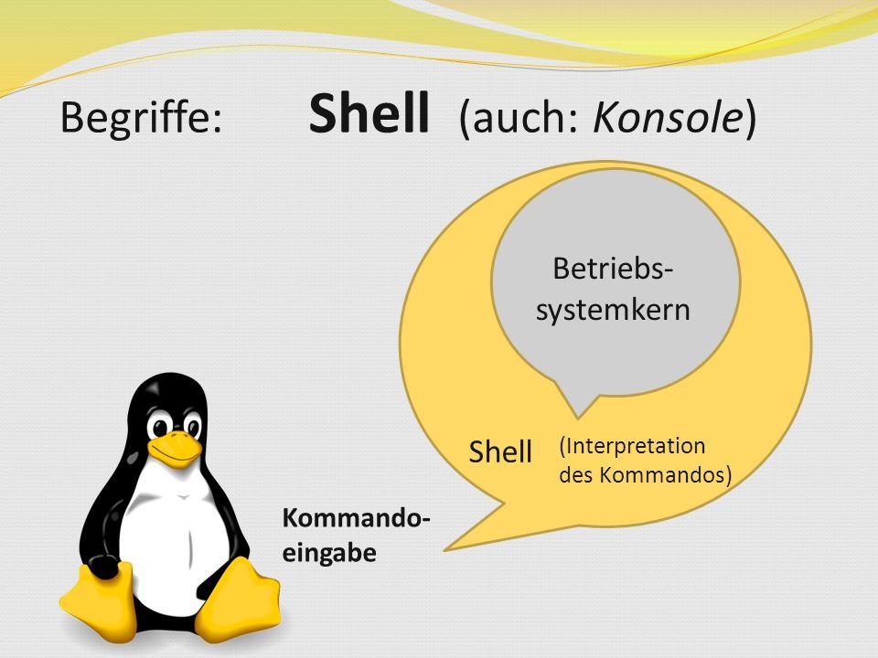 Knoppix freie GNU/Linux-Distribution, derer Hauptanwendungsbereich im Live-Betrieb liegt Eine der ersten Linux Distributionen, die vollständig von CD/DVD lief (keine Festplatteninstallation notwendig) Von Klaus Kopper entwickelt Kann als produktives Linux-System für den Desktop, Schulungs-CD, Rescue-System etc.
