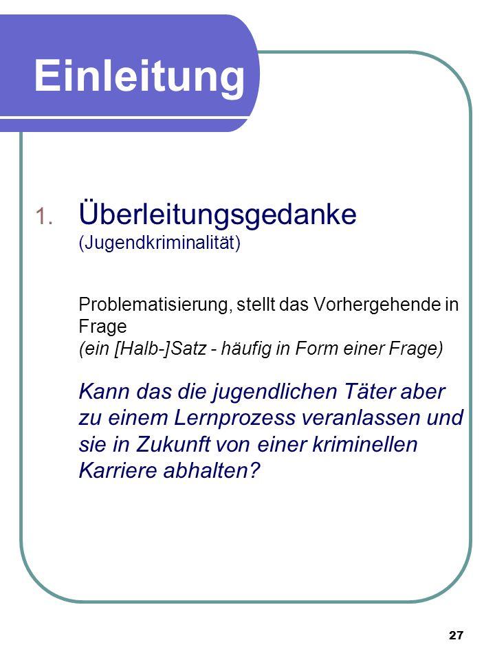 27 Einleitung Beispiel 1.