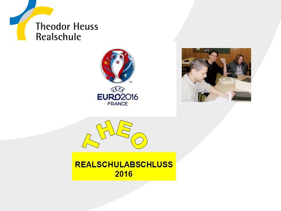 Die Realschule in Baden-Württemberg 10.10.2015 REALSCHULABSCHLUSS 2016