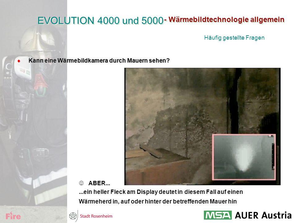 - Wärmebildtechnologie allgemein l Kann eine Wärmebildkamera durch Mauern sehen? ABER......ein heller Fleck am Display deutet in diesem Fall auf einen