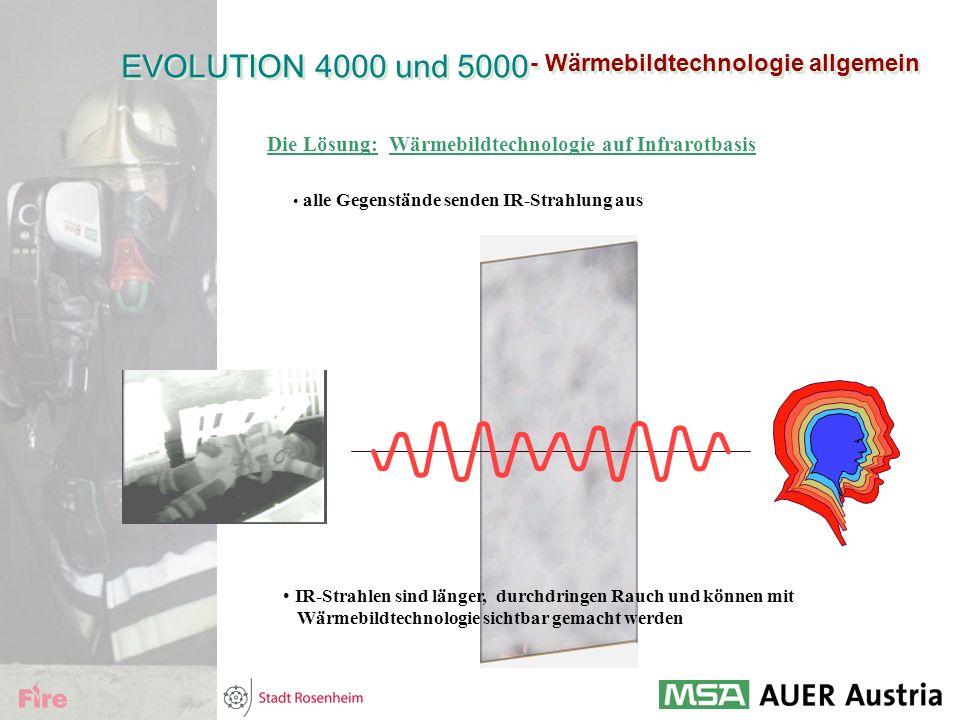 - Wärmebildtechnologie allgemein Die Lösung: Wärmebildtechnologie auf Infrarotbasis alle Gegenstände senden IR-Strahlung aus IR-Strahlen sind länger,