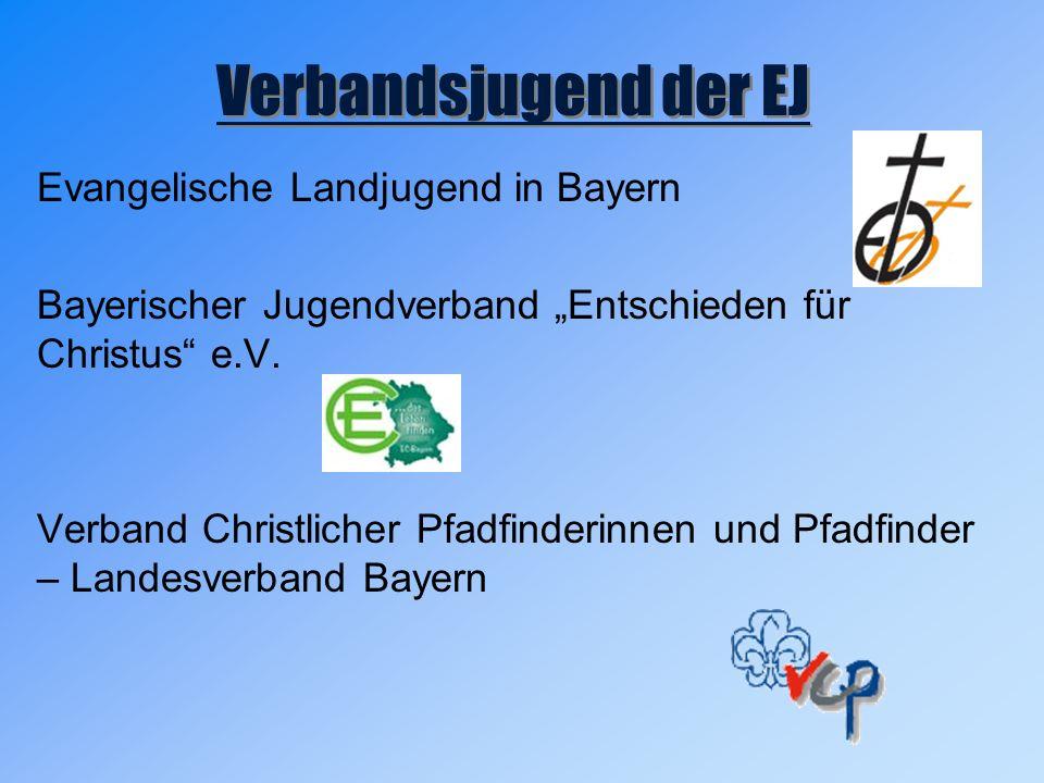 """Evangelische Landjugend in Bayern Bayerischer Jugendverband """"Entschieden für Christus e.V."""
