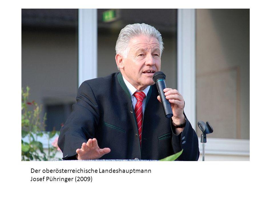 Der oberösterreichische Landeshauptmann Josef Pühringer (2009)