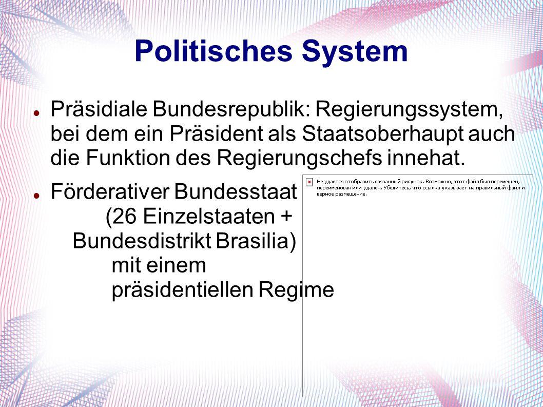 Politisches System Präsidiale Bundesrepublik: Regierungssystem, bei dem ein Präsident als Staatsoberhaupt auch die Funktion des Regierungschefs innehat.