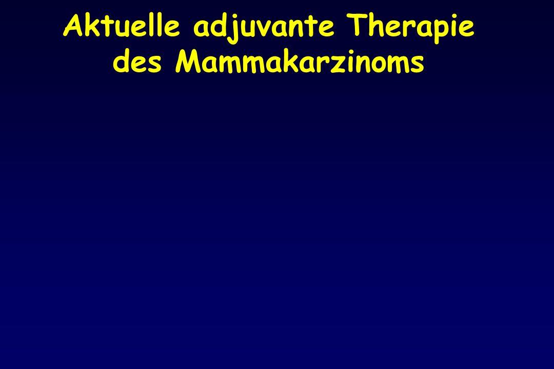 Aktuelle adjuvante Therapie des Mammakarzinoms