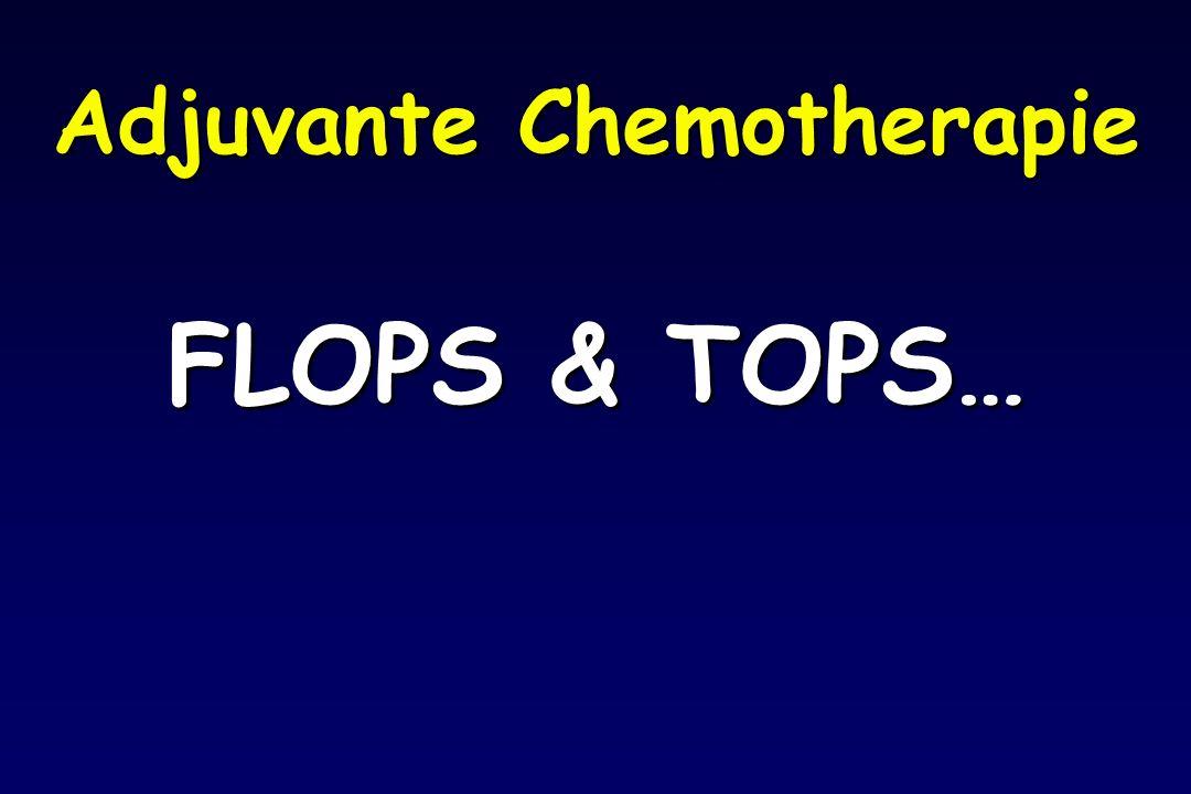 Adjuvante Chemotherapie FLOPS & TOPS…