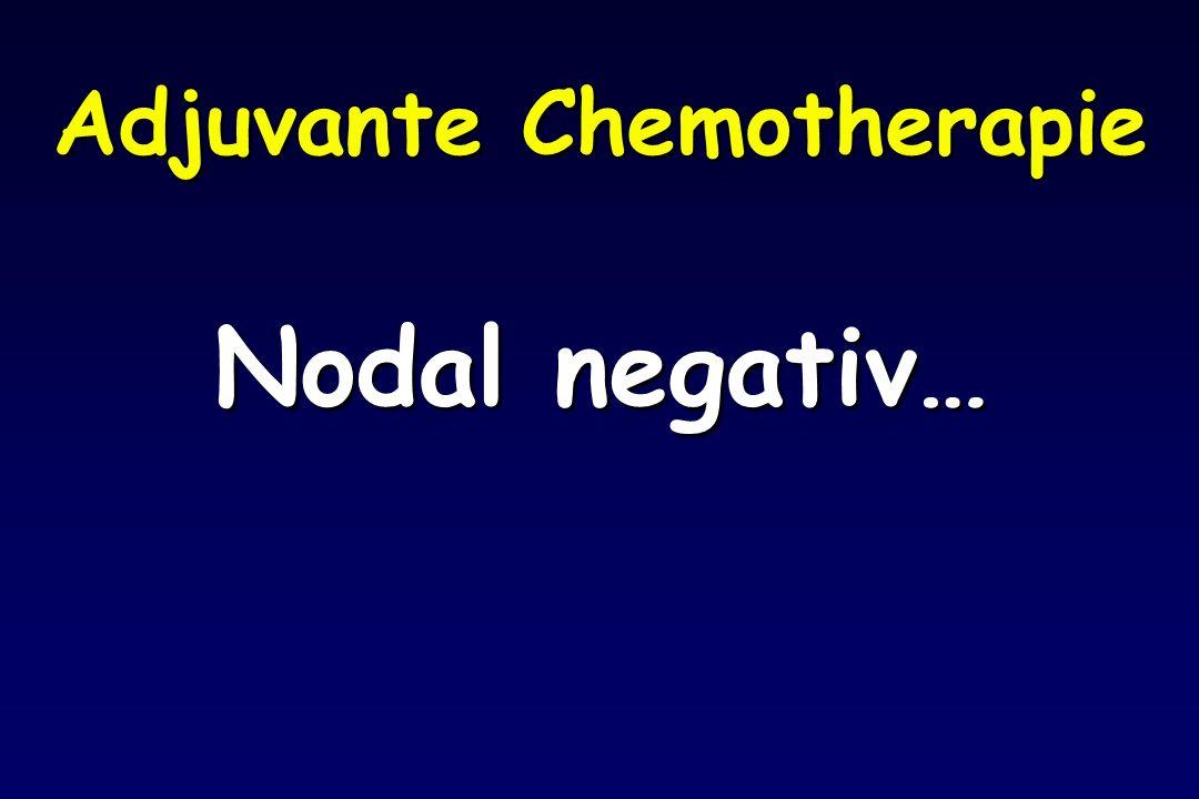 Adjuvante Chemotherapie Nodal negativ…