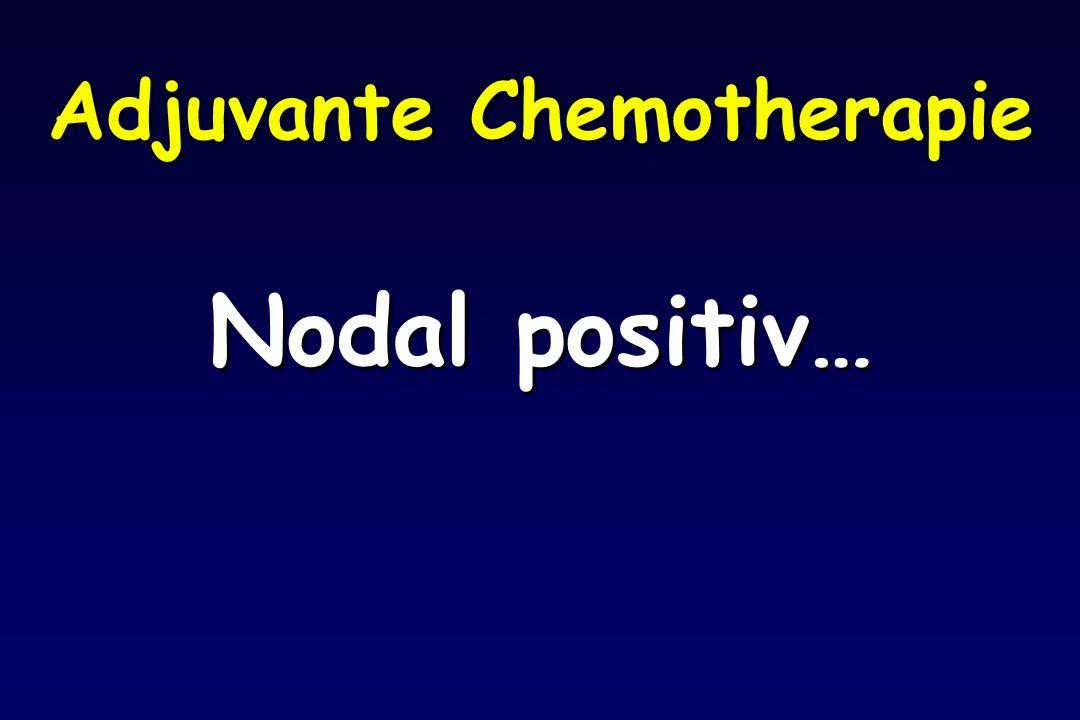 Adjuvante Chemotherapie Nodal positiv…