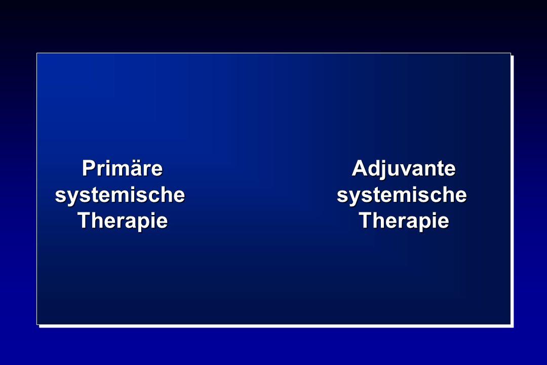 AdjuvantesystemischeTherapie PrimäresystemischeTherapie
