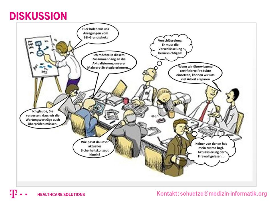Diskussion Kontakt: schuetze@medizin-informatik.org