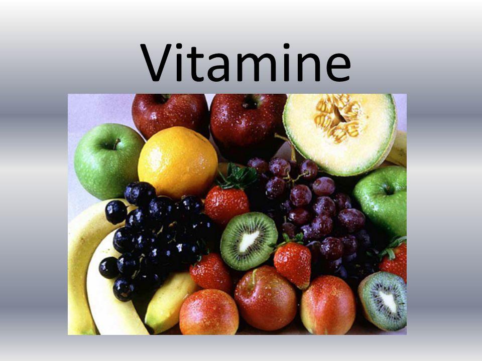 Allgemeines Sind für viele Stoffwechselvorgänge notwendig Sie werden mit Buchstaben bezeichnet- MÜSSEN durch Nahrung aufgenommen werden Werden am Besten durch frisches Obst und Gemüse aufgenommen