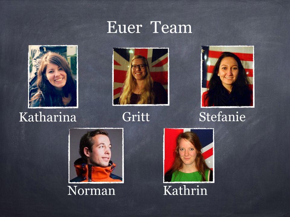 Euer Team StefanieGritt Katharina KathrinNorman