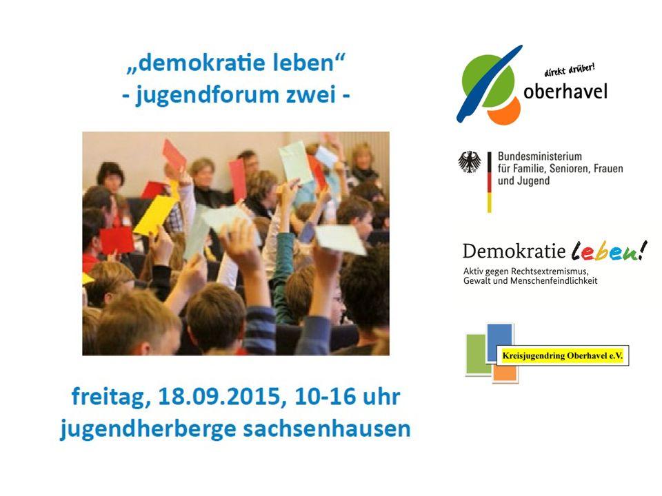 """www.fachstelle-kijubb.de """"Wie funktioniert Demokratie im Landkreis Oberhavel und was können/dürfen/sollen Jugendliche dabei tun?"""