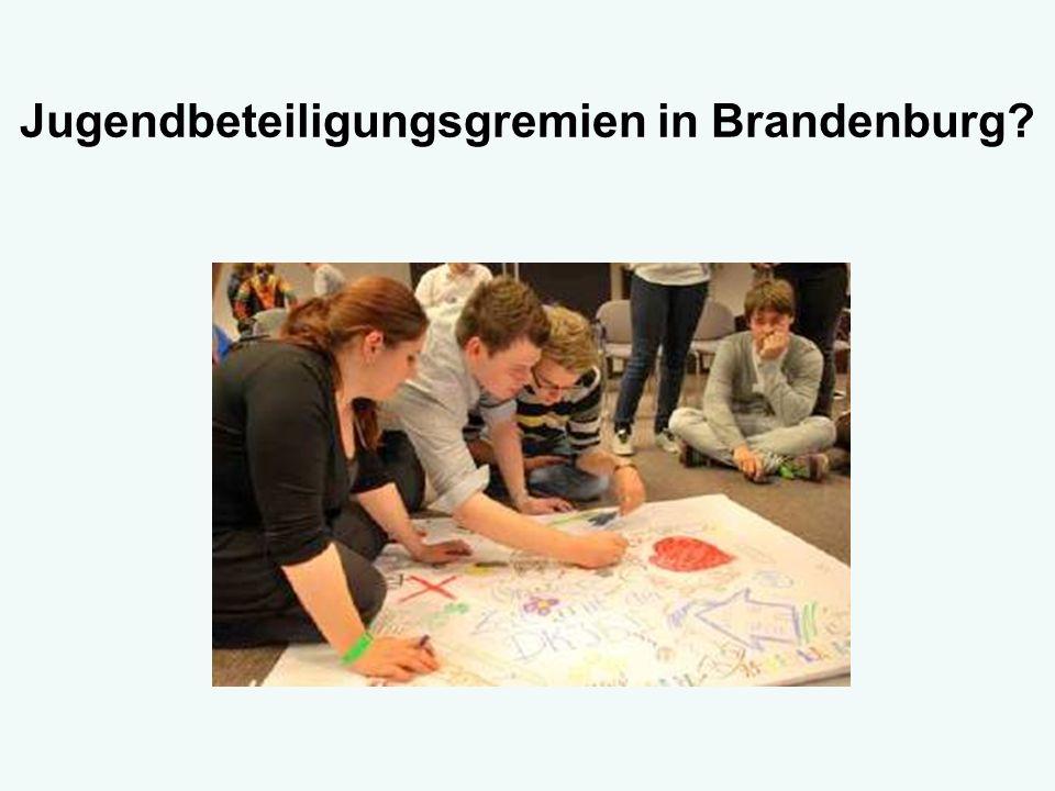 Jugendbeteiligungsgremien in Brandenburg?