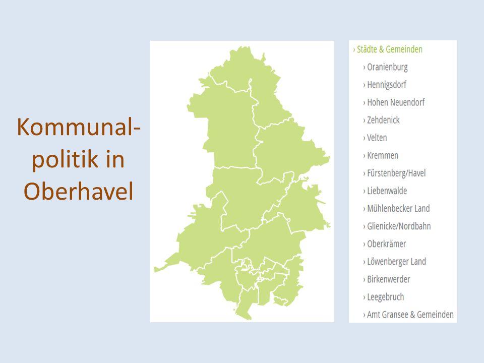 Kommunal- politik in Oberhavel