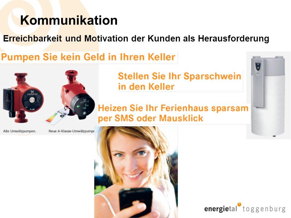 Kommunikation Erreichbarkeit und Motivation der Kunden als Herausforderung