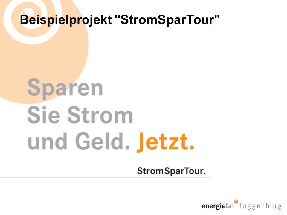 Beispielprojekt StromSparTour