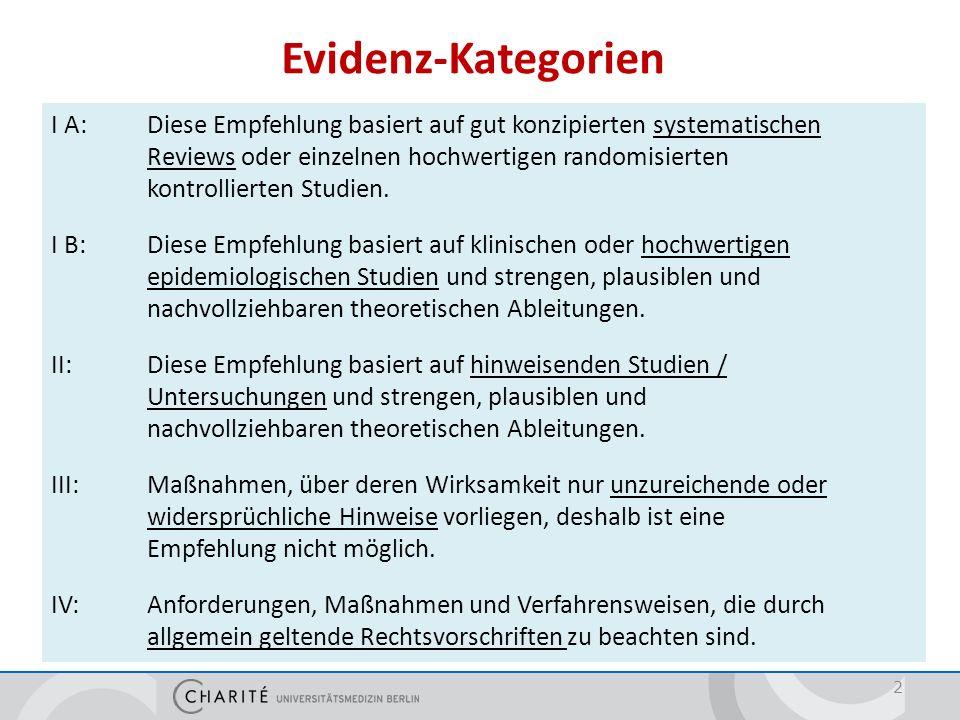 Prävention der intraluminären Besiedlung 23 Händedesinfektionvor und nach allen Manipulationen am Katheter/ Ableitungssystem Einmalhandschuhezum Eigenschutz (Kat.