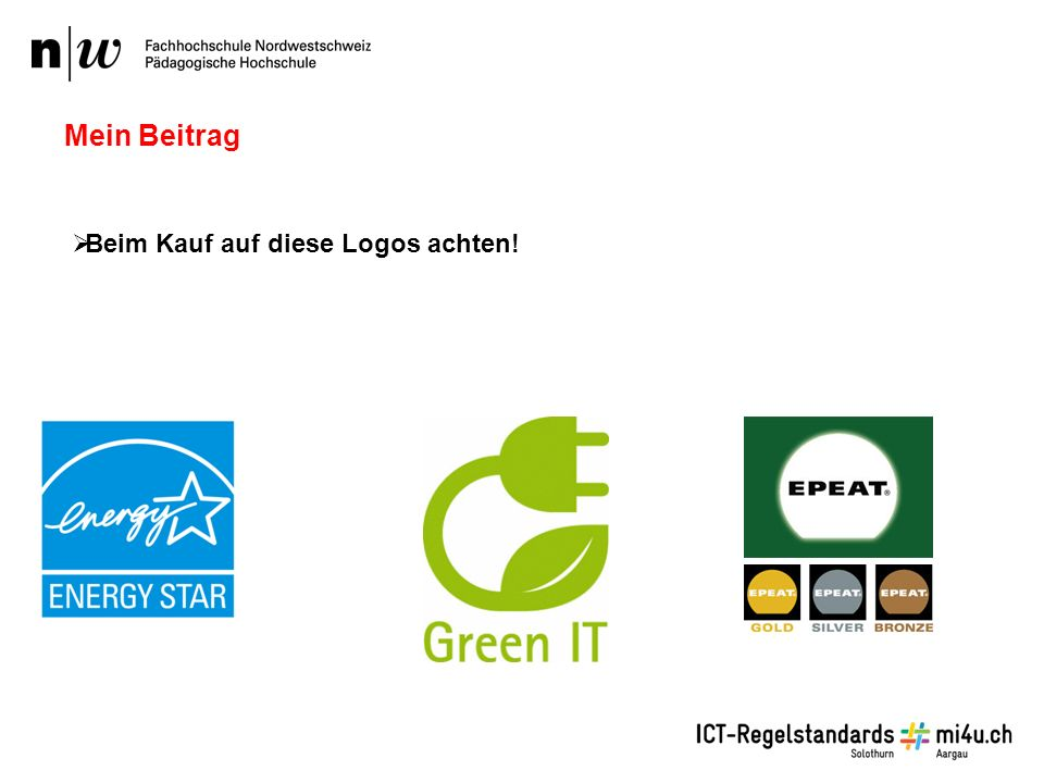  Beim Kauf auf diese Logos achten! Mein Beitrag